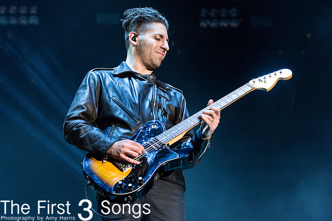 Joe Trohman of Fall Out Boy performs at the 2014 Bunbury Music Festival in Cincinnati, Ohio