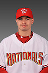 14 March 2008: ..Portrait of Steven Shepard, Washington Nationals Minor League player at Spring Training Camp 2008..Mandatory Photo Credit: Ed Wolfstein Photo