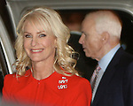 Presidential hppefull John McCain and Wife Cindi , arrive prior to the debate on September 26, in Oxford, Mississippi..