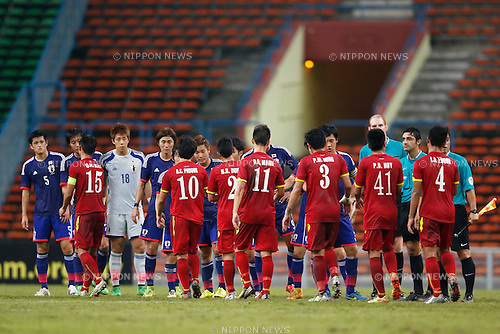 U-22U-22 Japan team group (JPN), MARCH 29, 2015 - Football / Soccer : AFC U-23 Championship 2016 Qualification Group I match between U-22 Japan 2-0 U-22 Vietnam at Shah Alam Stadium in Shah Alam, Malaysia. (Photo by Sho Tamura/AFLO SPORT)