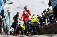 Lucas Leiva of Liverpool arrives during the 2016/17 Pre Season Friendly match between Tranmere Rovers and Liverpool at Prenton Park, Birkenhead, England on 8 July 2016. Photo by PRiME Media Images.
