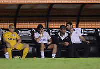 SAO PAULO SP, 13  MARCO 2013 - Libertadores da America - CORINTHIANS X TIJUANA -  Lance do gol machuca pato e substituido    durante partida valida pela Taca Libertadores da Amercia no Estadio do Pacaembu em Sao Paulo, nesta quarta feira, 13. (FOTO: ALAN MORICI / BRAZIL PHOTO PRESS).