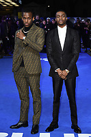 "Michael Ward and Stephen Odubola<br /> arriving for the ""Blue Story"" premiere at the Curzon Mayfair, London.<br /> <br /> ©Ash Knotek  D3534 14/11/2019"
