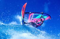 The windsurfing scenes of Backyards Sunset Beach, Oahu
