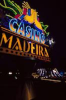 Portugal, Madeira, Casino erbaut von Oscar Niemeyer in Funchal