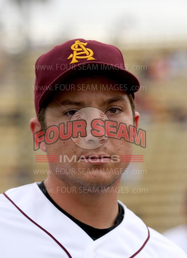 Brett Wallace / Arizona State Sun Devils..Photo by:  Bill Mitchell/Four Seam Images
