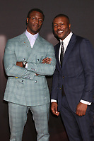 """LOS ANGELES - FEB 24:  Aldis Hodge, Edwin Hodge at the """"The Invisible Man"""" Premiere at the TCL Chinese Theater IMAX on February 24, 2020 in Los Angeles, CA"""