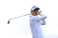 Sam Murphy (Portumna) on the 10th tee during the Final round in the Connacht U16 Boys Open 2018 at the Gort Golf Club, Gort, Galway, Ireland on Wednesday 8th August 2018.<br /> Picture: Thos Caffrey / Golffile<br /> <br /> All photo usage must carry mandatory copyright credit (&copy; Golffile | Thos Caffrey)