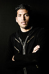 Real Madrid's Ezequiel Garay during portrait session. December 17, 2009. (ALTERPHOTOS/Alvaro Hernandez)