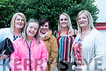 At the Nathan Carter concert in Glenbeigh Sports Hall on Friday evening<br /> L-R Angela McGee, Alison Scott, Carmel O'Brien, Amy Scott, Deirdre Scott.