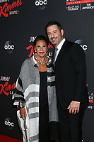 LOS ANGELES - AUG 7:  Laine Kazan, Jimmy Kimmel at the An Evening With Jimmy Kimmel at the Roosevelt Hotel on August 7, 2019 in Los Angeles, CA