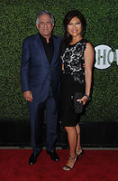 10 August 2016 - West Hollywood, California. Les Moonves, Julie CHen. 2016 CBS, CW, Showtime Summer TCA Party held at Pacific Design Center. Photo Credit: Birdie Thompson/AdMedia