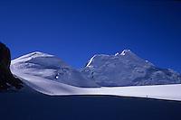 Saribung (6348m) and Chhib Himal (6505m) from Damodar Glacier, Damodar Himal, 2008