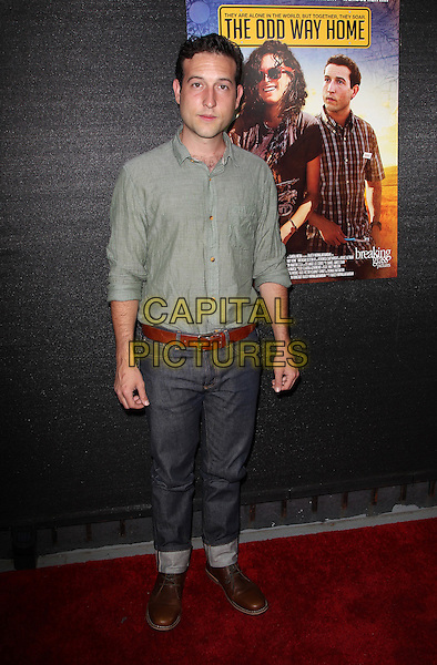 Hollywood, CA - May 30: Chris Marquette Attending The Odd Way Home Theatrical World Premiere At Arena Cinema California on May 30, 2014.  <br /> CAP/MPI/RTNUPA<br /> &copy;RTNUPA/MediaPunch/Capital Pictures