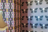 ENGLAND, Brighton, Butterfly and Skull wallpaper