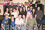 8954-8958.21ST PARTY: Jing Jing Fitzgerald, Connolly Park, Tralee (seated 2nd right) who celebrated her 21st birthday last Saturday night in the Greyhound bar, Pembroke St., Tralee with her husband John, his mom Mary (front 2nd left) and many friends and family.
