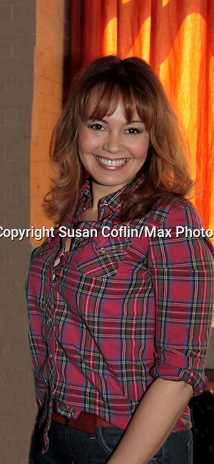 Lauren B. Martin - 11th Annual Daytime Stars & Strikes Event for Autism - 2015 on April 19, 2015 hosted by Guiding Light's Jerry ver Dorn (& OLTL) and Liz Keifer at Bowlmor Lanes Times Square, New York City, New York. (Photos by Sue Coflin/Max Photos)