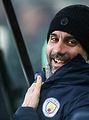 29th January 2019, St James Park, Newcastle upon Tyne, England; EPL Premier League football, Newcastle United versus Manchester City; Manchester City manager Pep Guardiola before the game