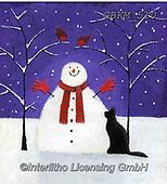 Kate, CHRISTMAS SANTA, SNOWMAN, WEIHNACHTSMÄNNER, SCHNEEMÄNNER, PAPÁ NOEL, MUÑECOS DE NIEVE, paintings+++++Christmas page 4,GBKM510,#x#