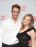 9 August 2018-  Westwood, California - Jade Pettyjohn, Guest. Premiere Of STX Films' &quot;Mile 22&quot; held at The Regency Village Theatre. <br /> CAP/MPIFS<br /> &copy;MPIFS/Capital Pictures