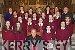 Girls from St Joesphs Presentation Convent Castleisland who received their confirmation in St Stephens and Johns church Castleisland from Bishop Bill Murphy on Monday