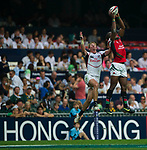 United States play Kenya on Day 1 of the Cathay Pacific / HSBC Hong Kong Sevens 2013 at Hong Kong Stadium, Hong Kong. Photo by Manuel Queimadelos / The Power of Sport Images