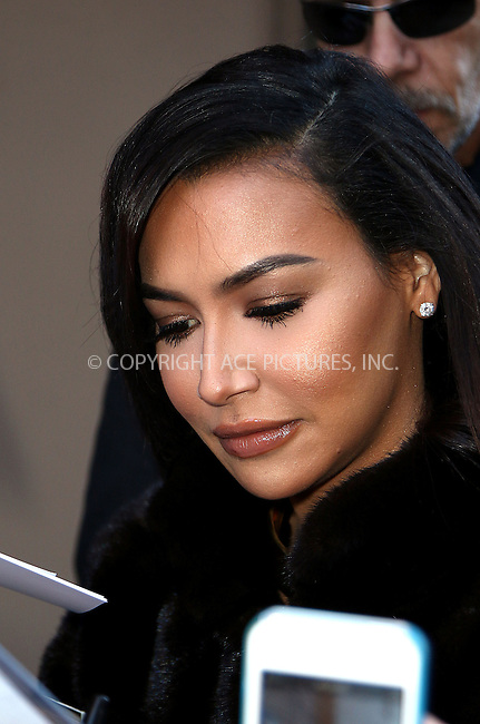 WWW.ACEPIXS.COM<br /> <br /> January 13 2015, New York City<br /> <br /> Actress Naya Rivera made an appearance at 'The View' on January 13 2015 in New York City<br /> <br /> By Line: Zelig Shaul/ACE Pictures<br /> <br /> <br /> ACE Pictures, Inc.<br /> tel: 646 769 0430<br /> Email: info@acepixs.com<br /> www.acepixs.com