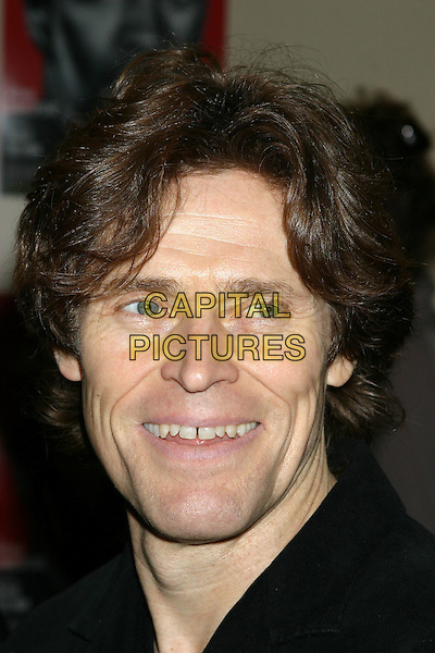 WILLEM DAFOE.Julius Caesar Broadway Opening Night, Arrivals, Belasco Theatre in New York City, USA, April 3rd 2005..portrait headshot teeth smiling.Ref: IW.www.capitalpictures.com.sales@capitalpictures.com.©Ian wilson/Capital Pictures.