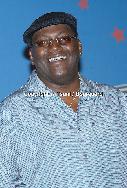 Randy Jackson backstage at the American Idol Grand Finale Part One at the Kodak Theatre in Los Angeles. September 3, 2002.
