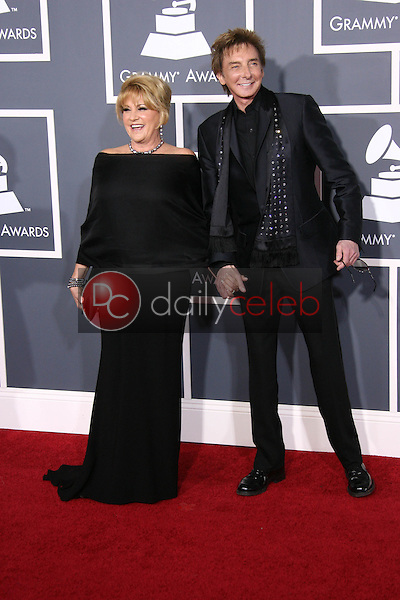 Lorna Luft and Barry Manilow<br /> at the 53rd Annual Grammy Awards, Staples Center, Los Angeles, CA. 02-13-11<br /> David Edwards/DailyCeleb.com 818-249-4998