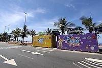 RIO DE JANEIRO,16 DE FEVEREIRO DE 2012- A Prefeitura do Rio de Janeiro está instalando banheiros públicos em diversos pontos da cidade para uso dos foliões durante os desfiles dos blocos do Carnaval 2012. Foto: Guto Maia / Brazil Photo Press