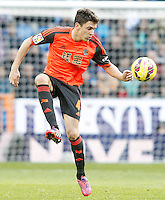 Real Sociedad's Gorka Elustondo during La Liga match.January 31,2015. (ALTERPHOTOS/Acero) /NortePhoto<br />