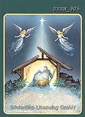 Randy, HOLY FAMILIES, HEILIGE FAMILIE, SAGRADA FAMÍLIA, paintings+++++CC-Nativity-and-Angels-Randy-sm,USRW305,#xr#