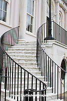 66512-00102 Stairway on City Hall Building, Charleston, SC