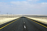 POFADDER, Northern Cape - 21 June 2008 - The road between Pofadder and Springbok is a long straight rood through an area called Boesmanland, which straddles the Kalahari and the Great Karoo..Picture: Giordano Stolley