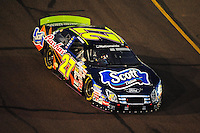 Apr 11, 2008; Avondale, AZ, USA; NASCAR Nationwide Series driver Brad Coleman during the Bashas Supermarkets 200 at the Phoenix International Raceway. Mandatory Credit: Mark J. Rebilas-
