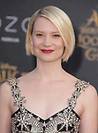 "Mia Wasikowska attends The Premiere Of Disney's ""Alice Through The Looking Glass"" held at The El Capitan Theatre  in Hollywood, California on May 23,2016                                                                               © 2016 Hollywood Press Agency"