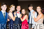 Teen Glam<br /> ---------------<br /> L-R Rory Dowling, Esther Wynne Morgan, James McAuliffe, Molly O'Donnell, Conor Standen and Kerri Fay all from Killorglin Intermediate school enjoying their Debs last Wednesday night in the Ballyroe Heights hotel, Tralee.