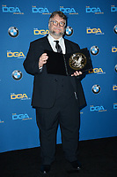 Guillermo Del Toro at the 70th Annual Directors Guild Awards at the Beverly Hilton Hotel, Beverly Hills, USA 03 Feb. 2018<br /> Picture: Paul Smith/Featureflash/SilverHub 0208 004 5359 sales@silverhubmedia.com