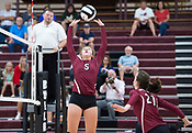 Rogers versus Springdale Girls Volleyball - September 21, 2017