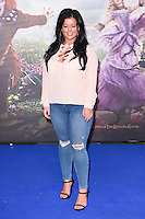 "Lauren Murray<br /> at the premiere of ""Alice Through the Looking Glass"" held at the Odeon Leicester Square, London<br /> <br /> <br /> ©Ash Knotek  D3117  10/05/2016"