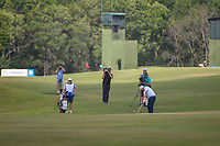 Marc Leishman (AUS) hits his approach shot on 18 during round 3 of the AT&amp;T Byron Nelson, Trinity Forest Golf Club, at Dallas, Texas, USA. 5/19/2018.<br /> Picture: Golffile | Ken Murray<br /> <br /> <br /> All photo usage must carry mandatory copyright credit (&copy; Golffile | Ken Murray)