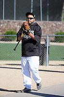 Dioner Navarro - Chicago White Sox 2016 spring training (Bill Mitchell)