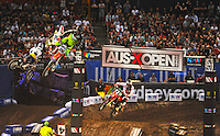 Luke Styke (KTM) final.<br />  AUS-X Open / SX1<br /> Sydney NSW Saturday 28 November 2015<br /> &copy; Sport the library / Courtney Crow