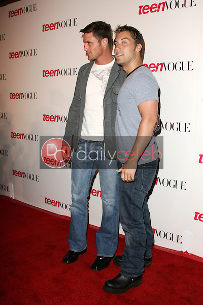 Reichen Lehmkuhl and Lance Bass<br />