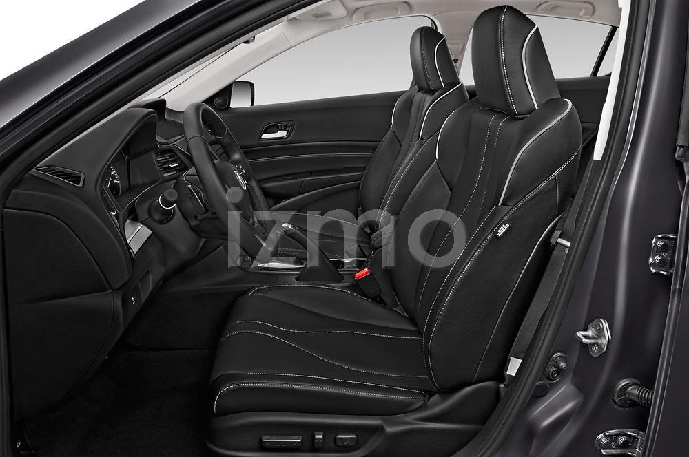 Front seat view of a 2019 Acura ILX Premium 4 Door Sedan front seat car photos