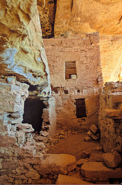 Eagle Nest House, ruins of an ancient Puebloan cliff dwelling village in the Ute Mountain Tribal Park near Cortez, Colorado, USA, TomBean_Pix_1946.