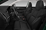 Front seat view of a 2018 Skoda Karoq Style 5 Door SUV front seat car photos