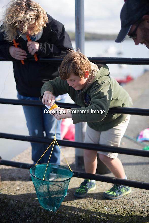 06/04/16 <br /> <br /> Crabbing, Appledore, North Devon.<br /> <br /> All Rights Reserved: F Stop Press Ltd. +44(0)1335 418365   +44 (0)7765 242650 www.fstoppress.com