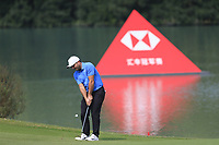 Francesco Molinari (ITA) during the Pro-Am at the WGC HSBC Champions 2018, Sheshan Golf CLub, Shanghai, China. 24/10/2018.<br />